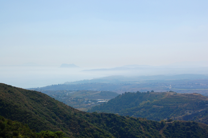 Views towards Gibraltar